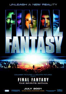 Final Fantasy The Spirit Within Screenwriter S Utopia