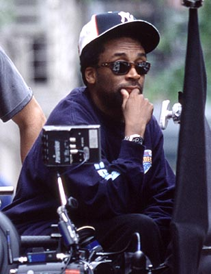 Spike on the set of 25TH HOUR